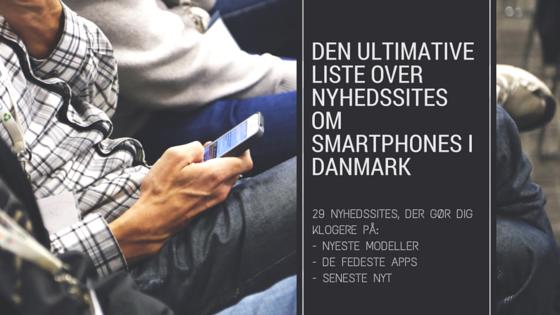 De 29 bedste smartphone-nyhedssites